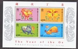 HONG KONK  783  **  NEW  YEAR  OF THE  OX - 1997-... Chinese Admnistrative Region