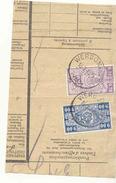 675A -België Spoorweg Chemin De Fer Stempel WERBOMONT  Op Fragment Rondstempel - 1942-1951