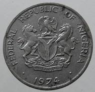 1974 - Nigeria - 10 Kobo - KM# 10.1 - Nigeria