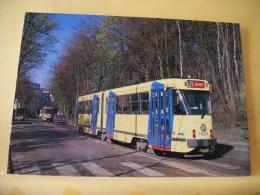TRAIN 9373 - STIB MIVB BRUXELLES/BRUSSEL - MOTRICE/RIJTUIG 7805 AVENUE JP CARSOEL LAAN. - Strassenbahnen