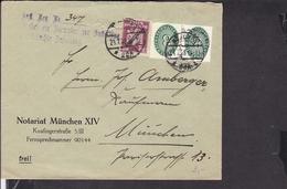 Deutsches Reich Dienstmarken Stempel München 1928 - Deutschland