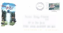 D1025 Entier / Stationery / PSE - PAP Vittel - Vivez Vittel - Prêts-à-poster:  Autres (1995-...)