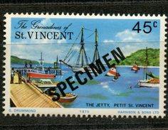 St Vincent Grenadines1975 45c Petit St Vincent. Issue #67 MNH  Specimen Overprint - St.Vincent & Grenadines