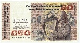 50 Pounds, 01.11.82, Eire, Républic Of Ireland, Type Signature P74a, XF+ - Ierland