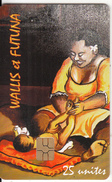 WALLIS & FUTUNA - La Mère Et L'enfant(no Number), Tirage 3000, 07/09, Used - Wallis And Futuna