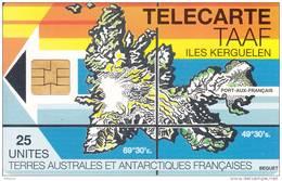 TAAF - Iles Kerguelen, Second Issue, Tirage 1250, 12/94, Used - TAAF - Franse Zuidpoolgewesten