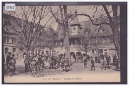 GENEVE - COLLEGE DE CALVIN - TB - GE Ginevra
