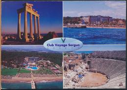 °°° GF78 - TURKEY - ANTALYA - CLUB VOYAGE SORGUN - With Stamps °°° - Turchia