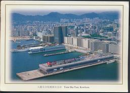 °°° GF88 - HONG KONG - KOWLOON - TSIM SHA TSUI - 1997 With Stamps °°° - Cina (Hong Kong)