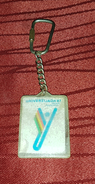 UNIVERSITY GAMES ZAGREB 1987. ORIGINAL VINTAGE KEY CHAIN - Athletics