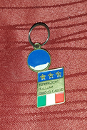 ITALIAN FOOTBALL FEDERATION, ORIGINAL VINTAGE KEY CHAIN - Fussball