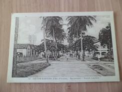 CPA  édit. C.Perinaud Abidjan 12-Grand Bassam Côte D'I.Abidjan 11 Juillet 1936 Pour Tronjet 9 Août 1936 N° 91 Et 95 B/TB - Briefe U. Dokumente