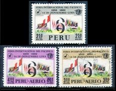 PERÚ-Yv. 507-A 253-254-Serie Completa -PER-8144 - Peru