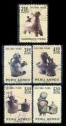 PERÚ-Yv. 509-A 260-263-Serie Completa -PER-8146 - Peru
