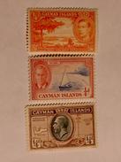 ILES CAÏMANS  1935-50  LOT# 1 - Iles Caïmans