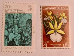 ILES CAÏMANS  1971-78  LOT# 4 - Iles Caïmans