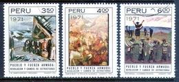 PERÚ-Yv. 557-559-Serie Completa -PER-8176 - Perù