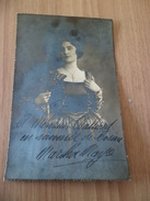 Autographe  Martha Mayo Actrice (1882-1965) Souvenir De Rosière De La Guerre 14-18 Photo Jos Rentmeester Bruxelles B/ TB - Autographs