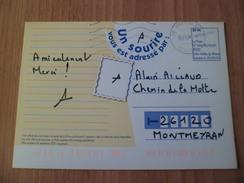 Carte Fête La Poste Loire Vallée Du Rhône Franchise Temporaire Dans La Drôme 20/09/2005 Circulée Valence 20/09/2005   TB - Lettres Civiles En Franchise