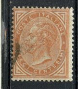 Italy 1863 10c Victor Emmanuel II Issue #27a - Used