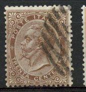 Italy 1863 30c Victor Emmanuel II Issue #30 - Used