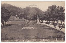 CEYLON Kandy, Bond And Holy Tooth Temple View From Queen's Hotel, C1910s Vintage Postcard, CEYLAN - SRI LANKA - Sri Lanka (Ceylon)