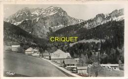 74 Bellevaux, La Chèvrerie Et Le Roc D'Enfer, Cliché Pas Courant - Bellevaux