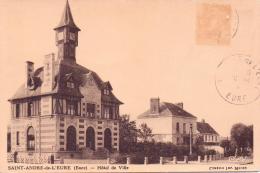 ALTE AK  SAINT-ANDRE  / Dep. Eure  - Hotel De Ville   -  Ca. 1925 - Frankreich