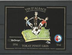 VIN D'ALSACE  WOLFBERGER LAFA FOOT TOKAY PINOT GRIS CAVE EGUISHEIM   NEUF QUALITÉ LUXE - Soccer