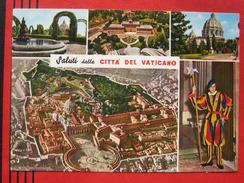 "Roma (RM) - Künstlerkarte ""Saluti Della Citta Del Vaticano"" - Vatikanstadt"