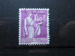 VEND BEAU TIMBRE DE FRANCE N° 371 , X !!!! - 1932-39 Peace