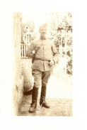A Identifier. Cpa Photo D'un Soldat Francais En 1917. - A Identifier