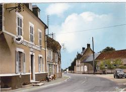 CPSM  MOISY 41  La Poste,route De Chateaudun - Autres Communes