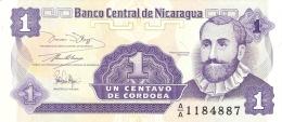 NICARAGUA   1 Centavo   ND (1991)   P. 167   UNC - Nicaragua