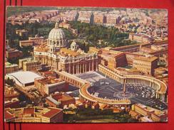 Roma / Citta Del Vaticano (RM) - Piazza E Basilica Di S. Pietro Vista Dall´aereo / Flugaufnahme - Vatikanstadt