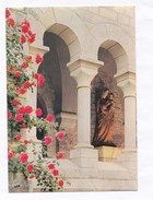 81 Dourgne Abbaye Saint-Benoit-d'En-Calcat Statue De Notre-Dame Dans Le Cloître N°2  TBE - Dourgne