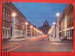 Roma / Citta Del Vaticano (RM) - Via Della Conciliazione E S. Pietro / Fiat, VW .... - Vatican