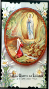 SANTINO - Immacolata Concezione - Lourdes - Santino Antico Come Da Scansione. - Devotion Images