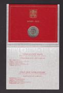 VATICANO FOLDER 2 EURO 2015 FDC ORIGINALE - Vatican