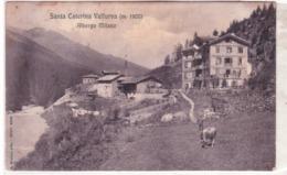 S. Caterina Valfurva  Albergo Milano Viaggiata 1907  E448 - Italia