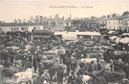 """¤¤  -  SOULLANS   -  La Foire   -  Marché Aux Boeufs  -  Chapellerie """" Blanchard """"        -  ¤¤ - Soullans"""