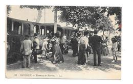 BAYONNE - TRAMWAY DE BIARRITZ - BEAU PLAN ANIME - Bayonne