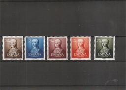 Espagne  (  (811/815 XXX -MNH) - 1931-Heute: 2. Rep. - ... Juan Carlos I