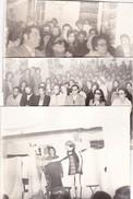 PHOTO  MAROC   SETTAT  :  3  GRANDES    PHOTOS   SPECTACLE  1974    . - Lieux