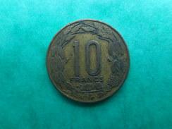 Equatorial African States 10 Francs 1961 - Centrafricaine (République)