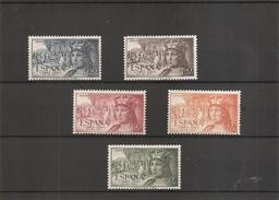 Espagne   (  (PA 257/261 XXX -MNH) - 1931-Heute: 2. Rep. - ... Juan Carlos I
