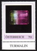 ÖSTERREICH 2015 ** TURMALIN - Edelstein, Mineralien - PM Personalized Stamp MNH - Mineralien