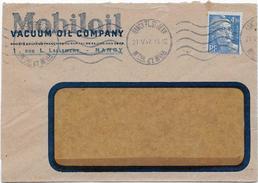 Dev.d'Env. MOBILOIL - 21-V-47 - Perf. VOC 40 Sur 718A - Perfins