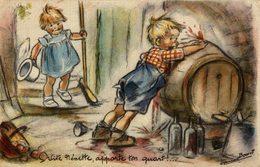 ILLUSTRATION SIGNEE GERMAINE BOURET VITE NENETTE - Bouret, Germaine