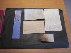 CPA+PHOTO+COURRIERS Relatifs à Joseph VAILLANT Et Lambert SMITZ De Chênée. Hopital Militaire à Londres - 1914-18